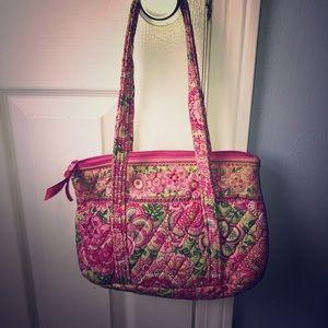 Medium sized, Vera Bradley purse.